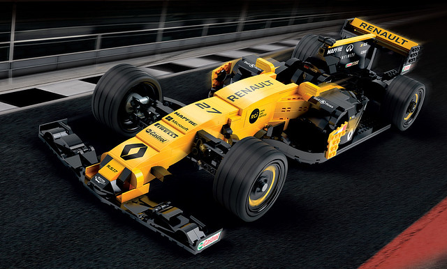 Renault R.S. 17 Creator Scale LCP set