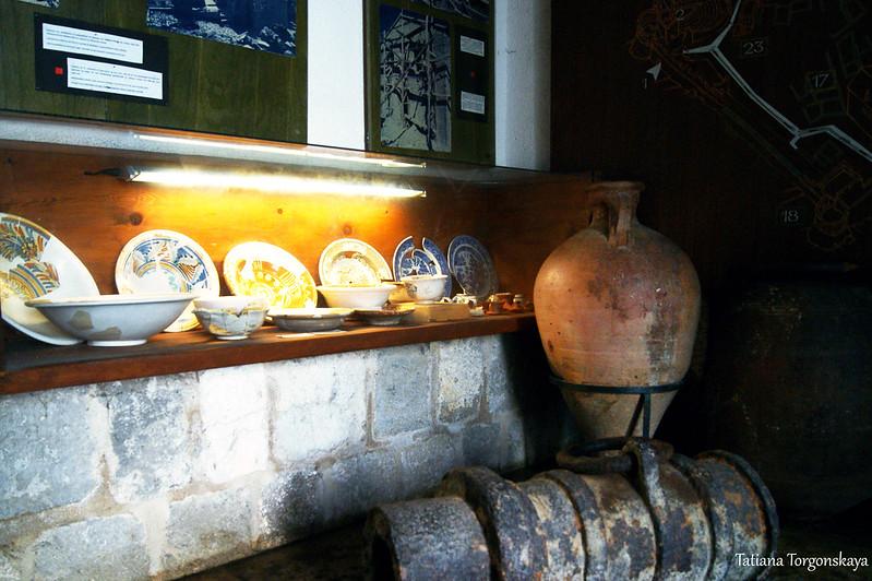 Экспозиция в музее Старого Бара