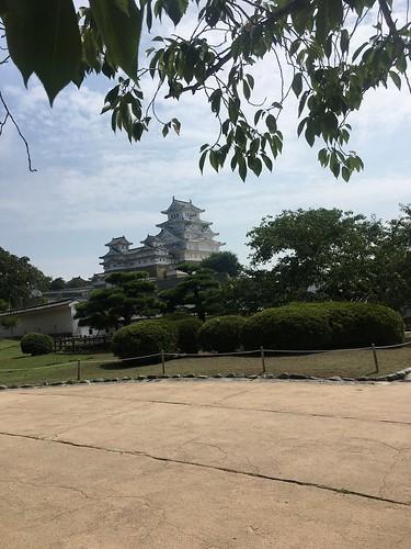 7日目京都の下宿向かう途中梶尾と姫路城寄った