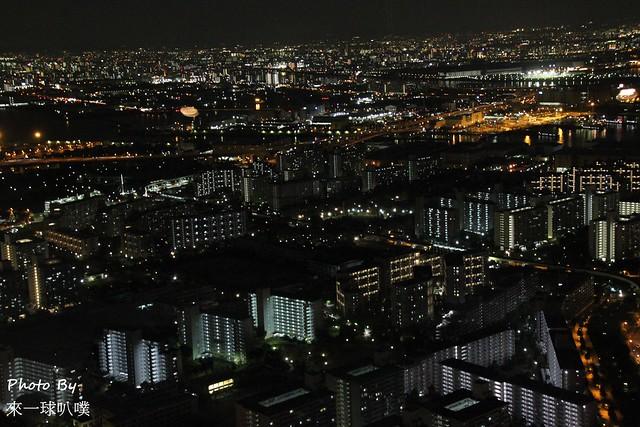 大阪府咲洲行政大樓展望台58