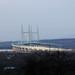 Second Severn Crossing Bridge / Ail Groesfan Hafren from Almondsbury, Gloucestershire