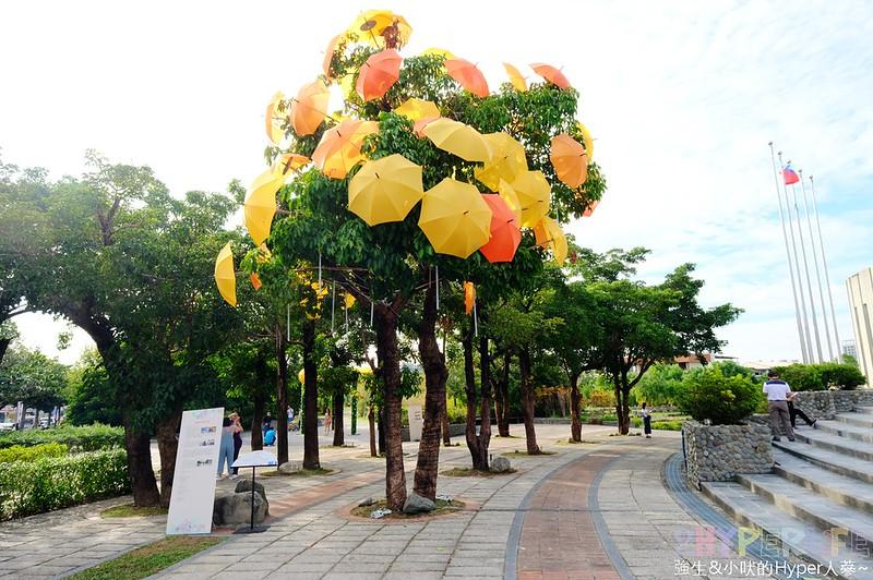 傘亮花博閃耀臺中屯區藝術中心裝置藝術展 (10)