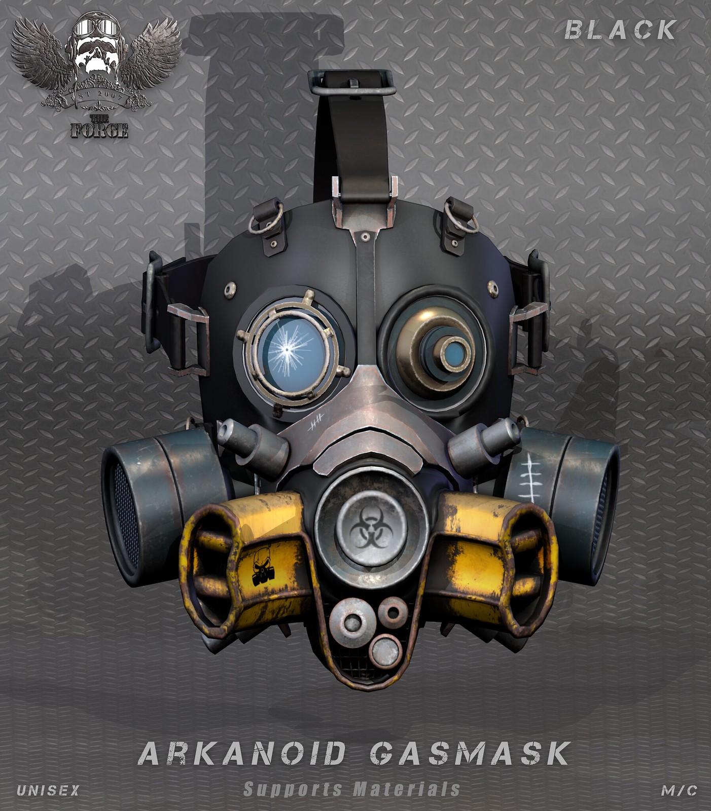 Forge Arkanoid Gasmask.