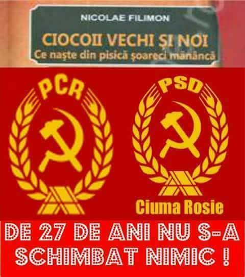 Noaptea ca hotii, PSD = Mafia