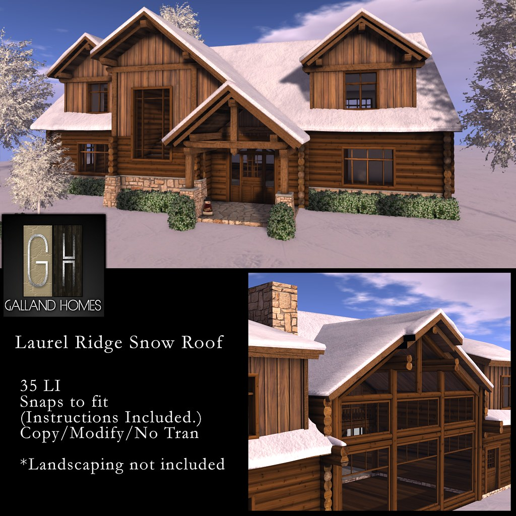 Laurel RidgeSnow Roof by Galland Homes - TeleportHub.com Live!