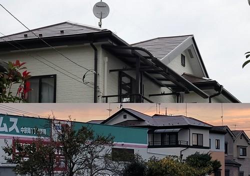 外壁の塗替えの屋根のチェック