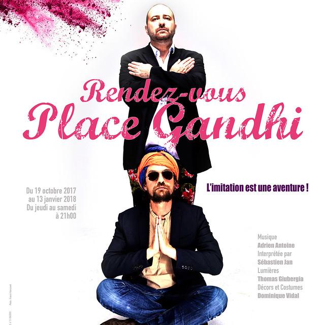 Rendez vous place Gandhi