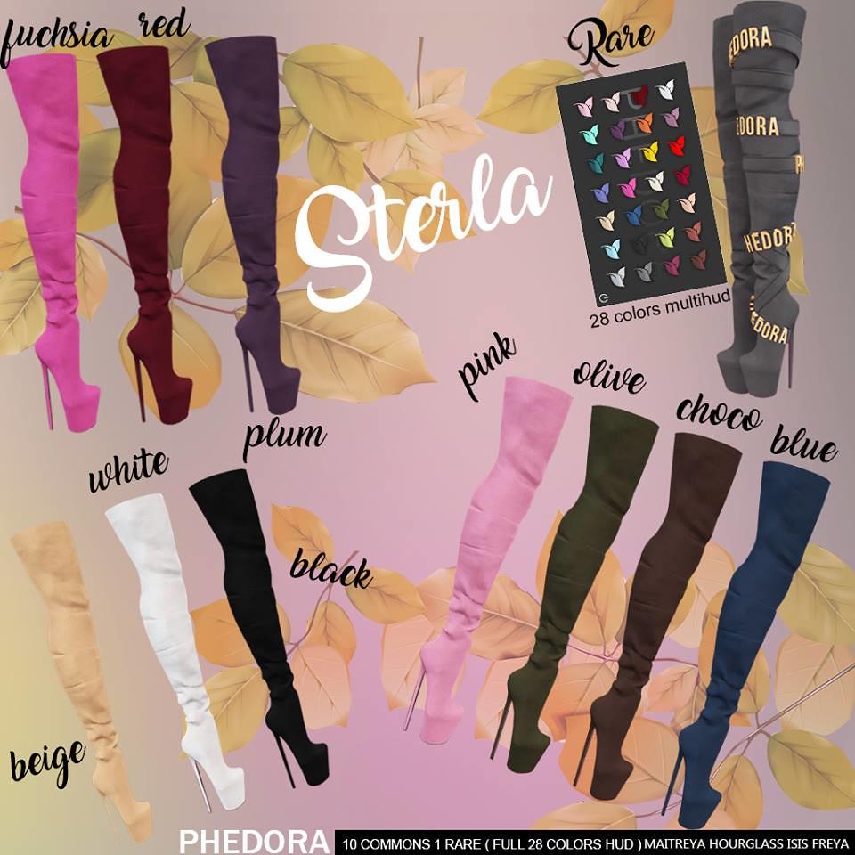 "Phedora for The Arcade Gacha Event- ""Sterla"" boots Gacha! ♥ - TeleportHub.com Live!"