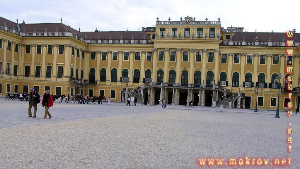 Исторический центр Вены, столица Австрии фотографии сделанные днем и вечером