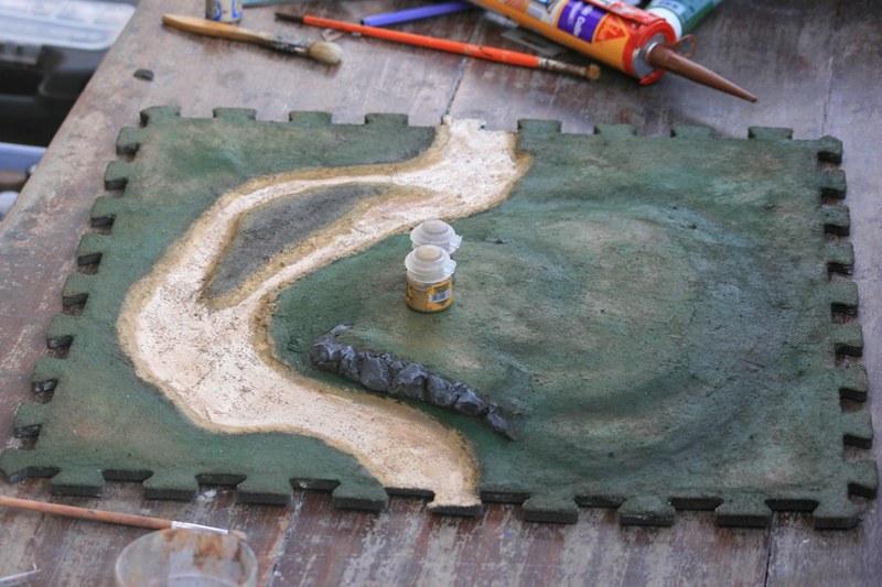 Plateau de jeu à partir de tapis de sol puzzle - Page 2 37656365414_7a143f7e96_c