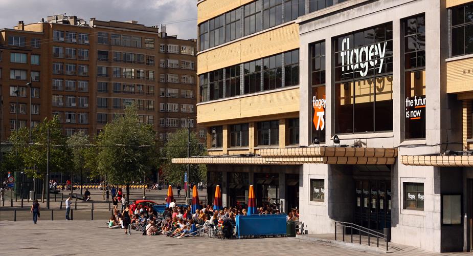 Flagey Brussel (foto: Olivier Ortelpa) | Mooistestedentrips.nl