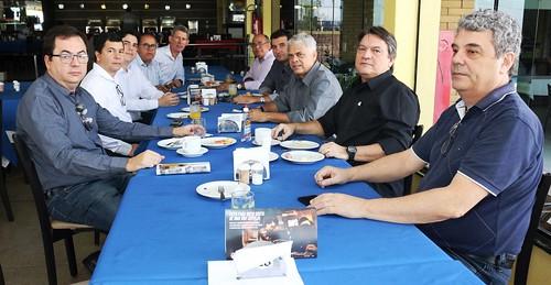 1º Café com Negócios - ACIM.
