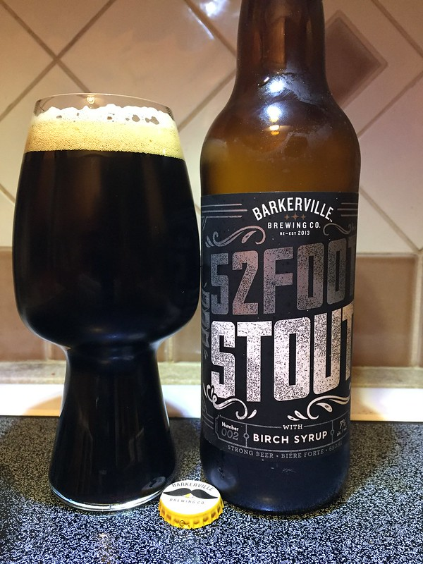 Barkerville Brewing 52 Foot Stout