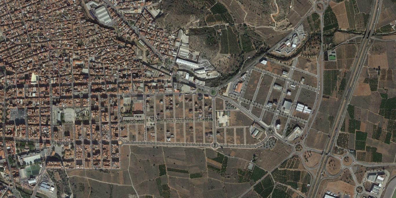 vall de uxó, castellón, campo de minas toponímico, después, urbanismo, planeamiento, urbano, desastre, urbanístico, construcción, rotondas, carretera