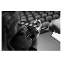 The way she plays XPro2 . #xpro2 #fujixpro2 #fujifeed #fujifilm #fujilove #myfujilove #fujifilm_xseries #fujifilmusa #fujifilmnordic #fujifilmme #fujifilm_uk #twitter #musician #portrait #orchestra #geoffroyschied #music #behindthescenes #stage #rehearsal
