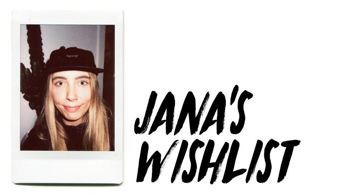 Jana-Wishlist