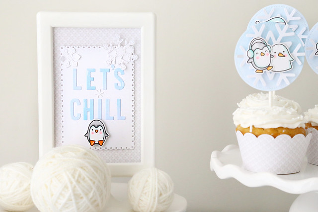 let's chill (a penguin party for Lawn Fawn)
