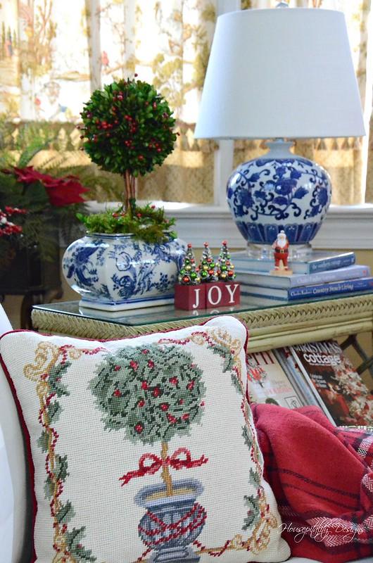 Christmas Pillow-Housepitality Designs