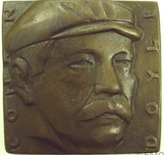 1991 Arthur Conan Doyle Medal Obverse