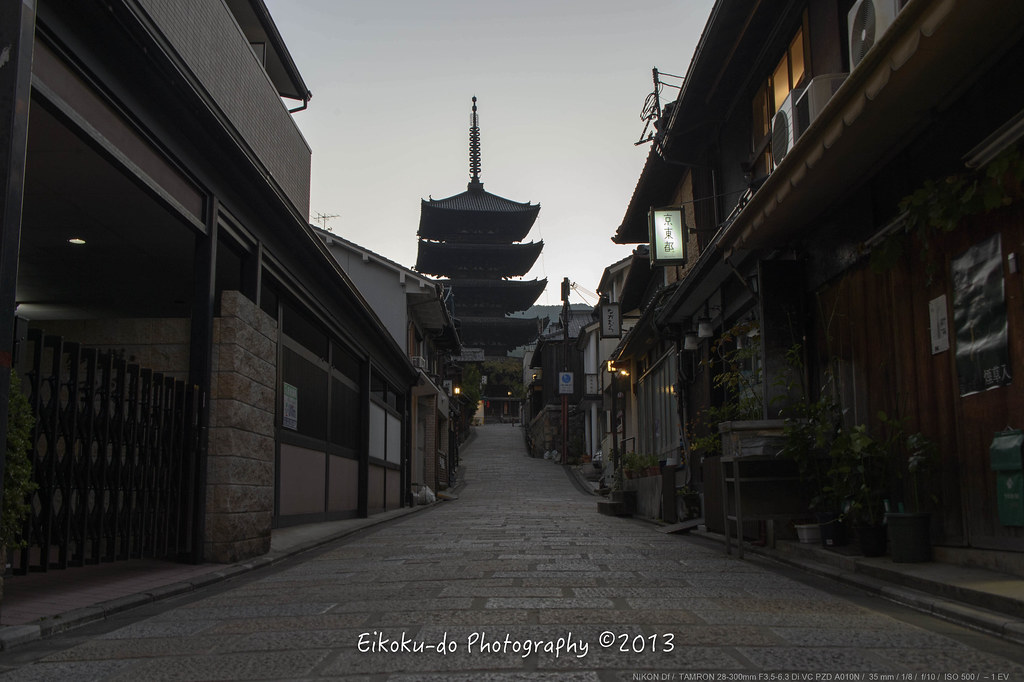 Hokanji early morning・Kyoto