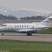 9H-BSA - 2008 build Hawker 750 (HS125), shortly after arrival at Manchester