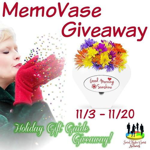 MemoVase Giveaway ~ 2 Winners