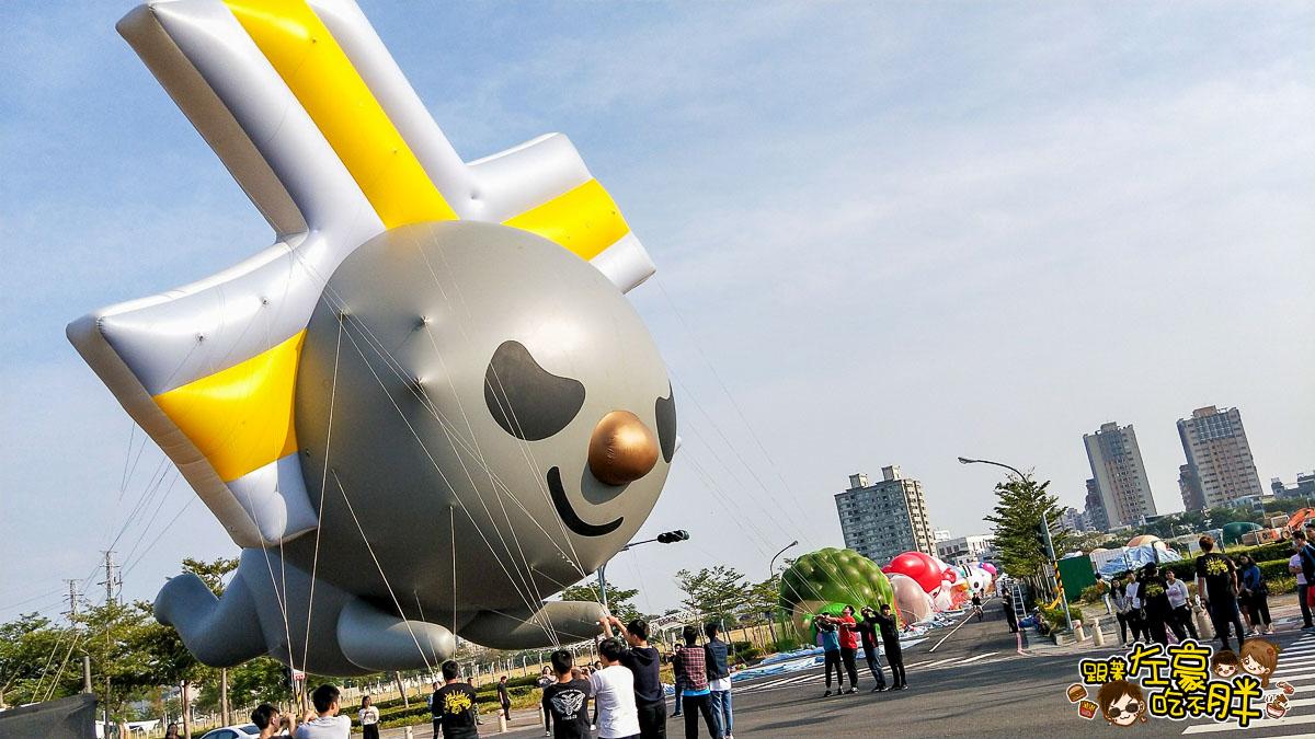 高雄夢時代OPEN大氣球遊行-18