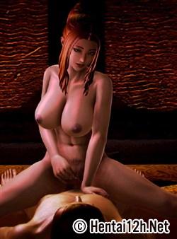 Truyện Hentai 3D Nữ chiến binh Ryona