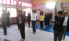 "Yoga Pratiman ""Pariksha De Hanste Hanste"" conducted at Dibrugarh"