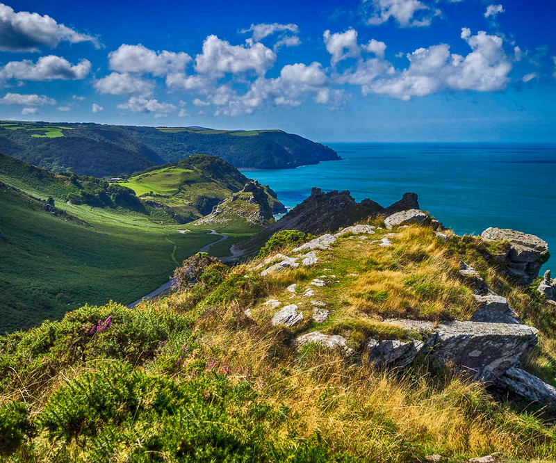 Valley of the Rocks, Devon. Credit Bob Radlinski, flickr