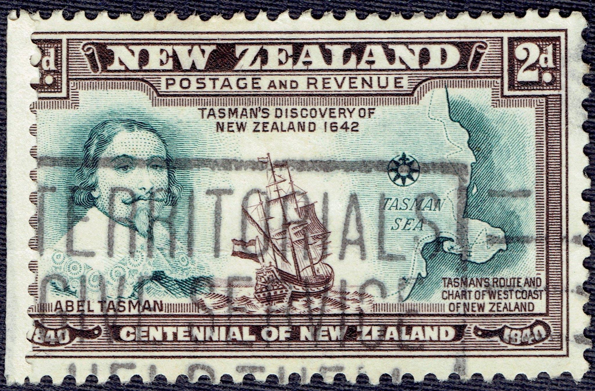 New Zealand - Scott #232 (1940)