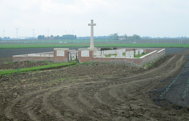 Wietje Farm Cemetery From Access Path