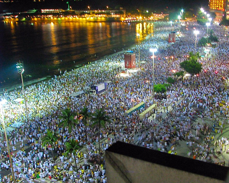 Copacabana Beach New Years Eve