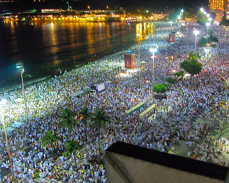 Copacabana Beach New Years Eve | Hello from the Five Star Vagabond