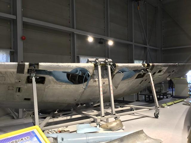 陸軍三式戦闘機飛燕 かかみがはら航空宇宙科学博物館収蔵庫 506