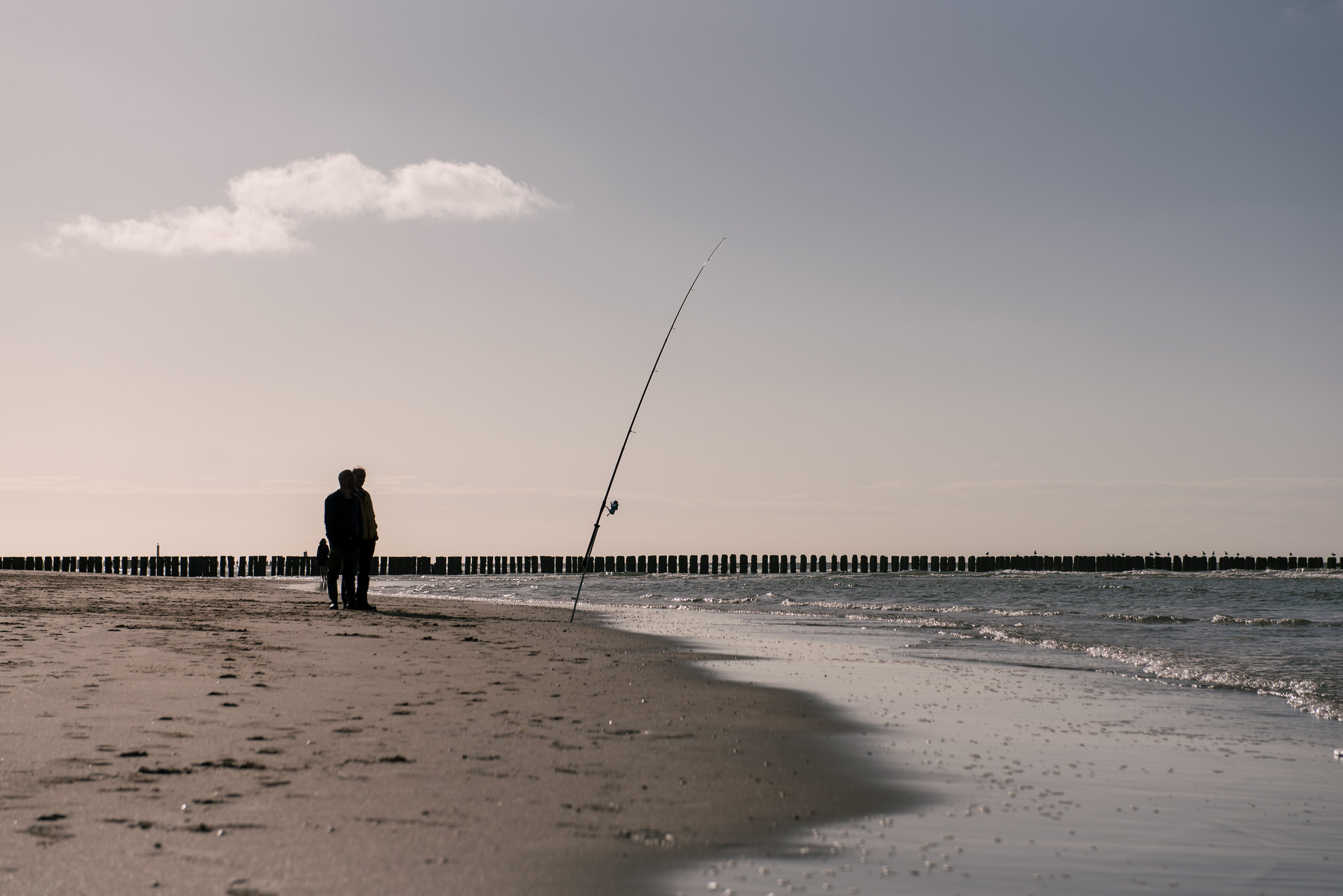 Relaxed fishing actions