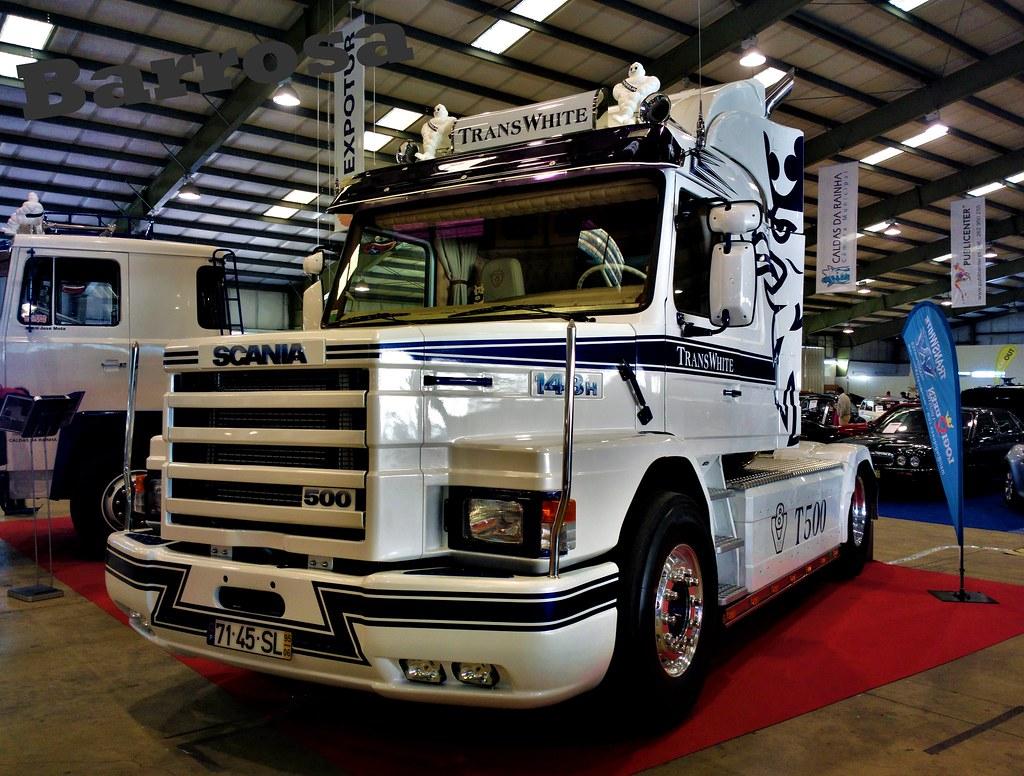 Scania 143H 500 Torpedo TransWhite by. Barrosa