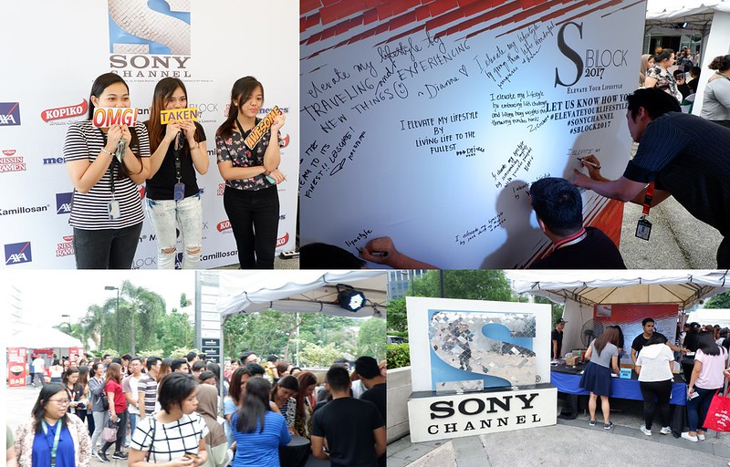 Modern Women of Sony enjoying their day at the S BLOCK 2017
