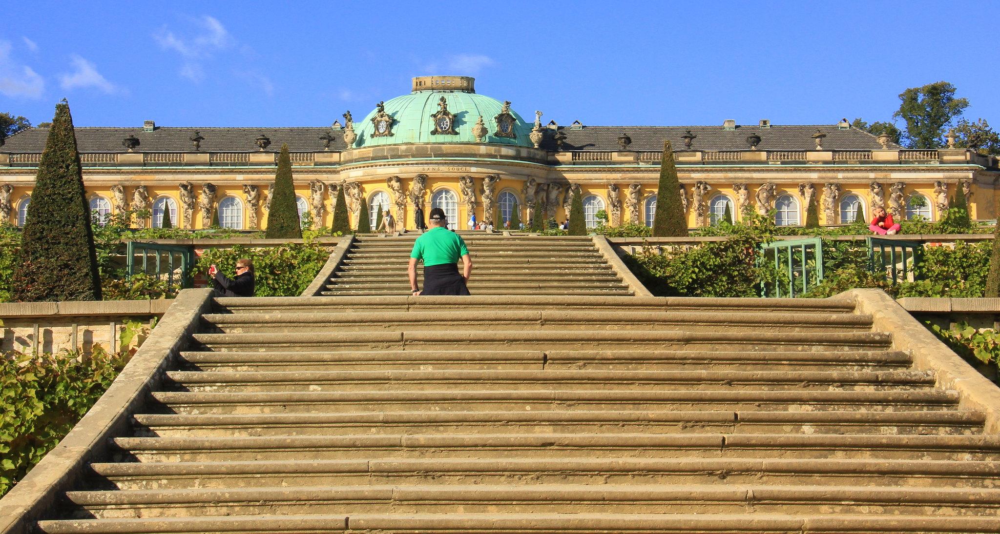 Potsdam is famous for Sanssouci