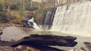 Rock Wings below the Falls