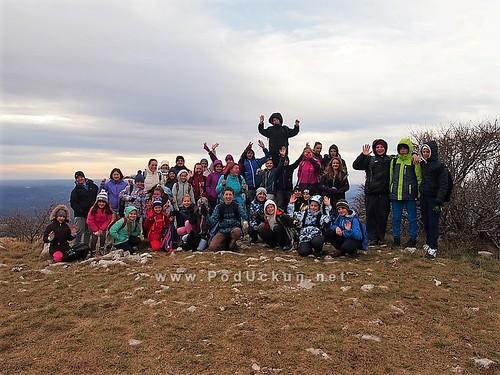 Planinarenje podmlatka PD Lisina na Žbevnicu i Velu Dragu