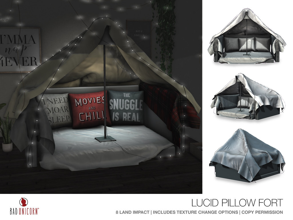 NEW! Lucid Pillow Fort @ District 20