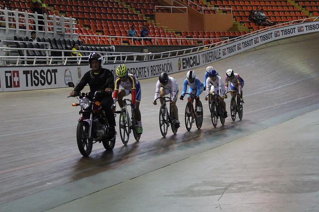 Día 3 ciclismo de pista, Juegos Bolivarianos 2017