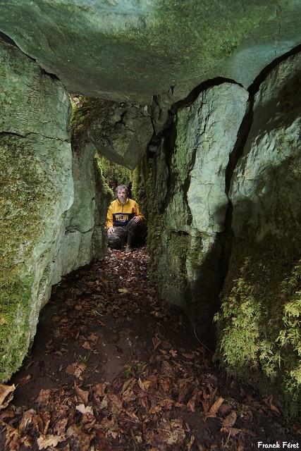 Tunnel sous le Lapiaz du Bois des Laizines - Dournon - Jura