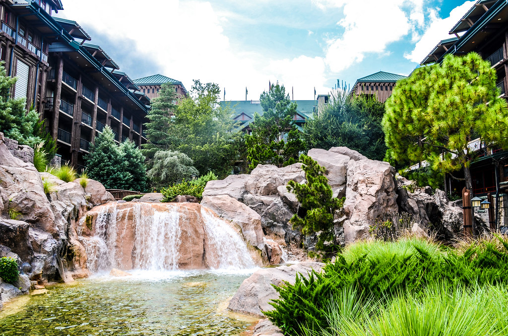 Wilderness Lodge stream