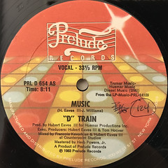 D TRAIN:MUSIC(LABEL SIDE-A)