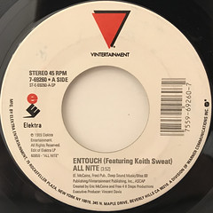 ENTOUCH FEATURING KEITH SWEAT:ALL NITE(LABEL SIDE-A)