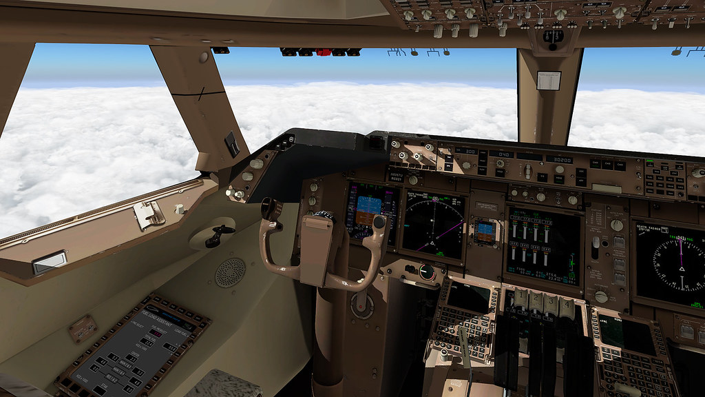 Novas texturas para o cockpit do 747-800 da SSG 38814340351_36a5d7cf48_b