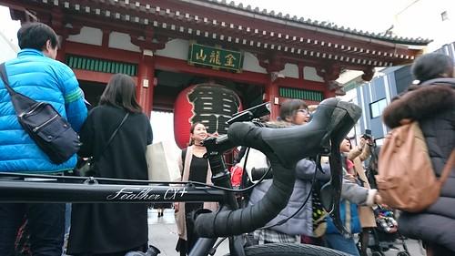 人多すぎてびびった浅草寺