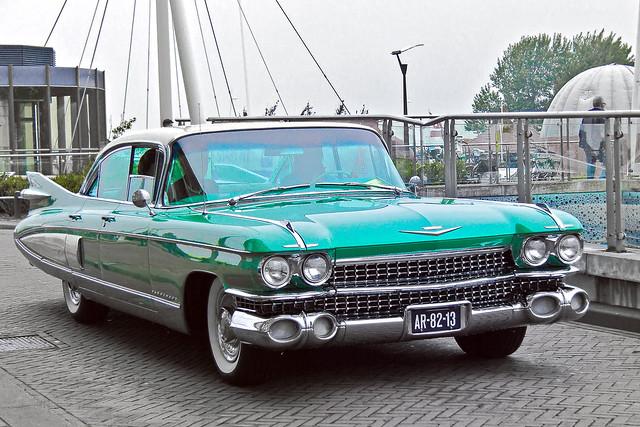 Cadillac Fleetwood Sedan 1959 - B&W + SC (7144)